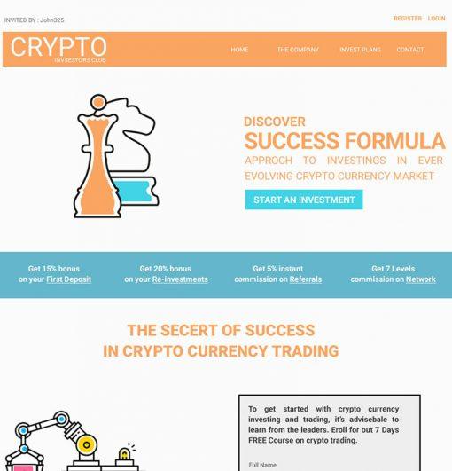 crypto invest club 1
