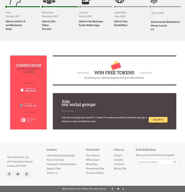 Liberty Coin – HYIP Template : ID – 14 | HYIP-Manager-Script
