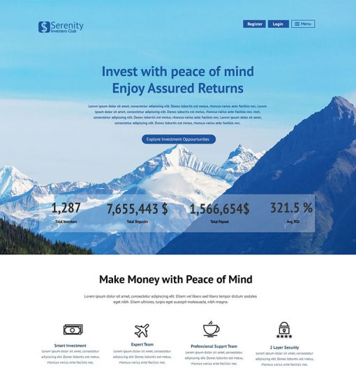 serenity invest 1