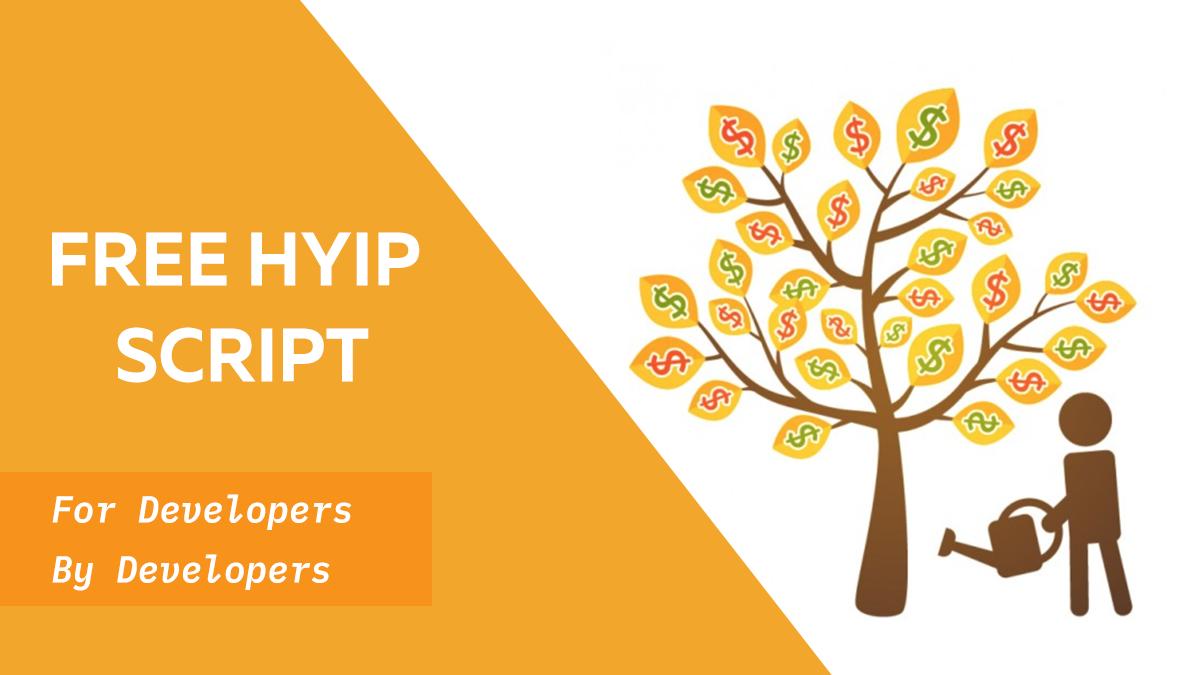 Free HYIP Script