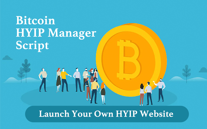 Bitcoin HYIP Manager Script