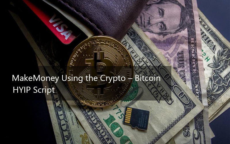 MakeMoney Using the Crypto – Bitcoin HYIP Script